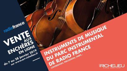 Instruments de musique du Parc instrumental de Radio France