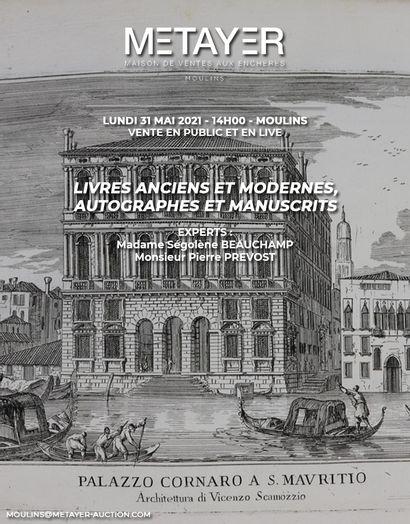 LIVRES ANCIENS ET MODERNES, AUTOGRAPHES ET MANUSCRITS