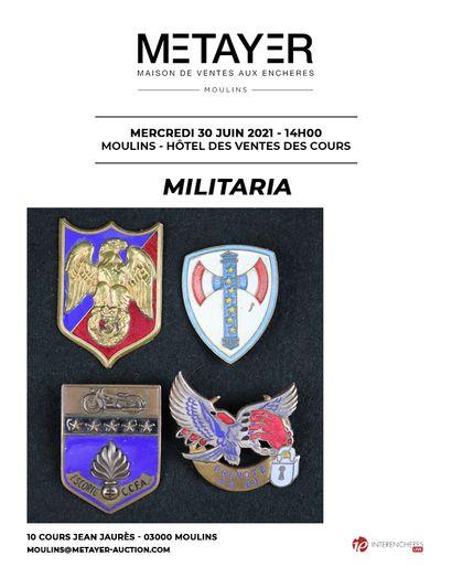 ART MILITAIRE (MILITARIA)