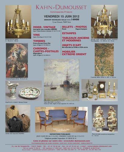 Meubles et objets d'arts, mode, vintage...