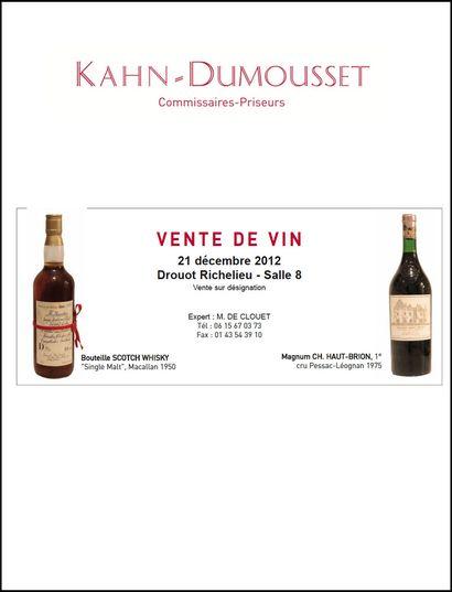 Vins - Argenterie - Objets d'art - Objets de vitrine