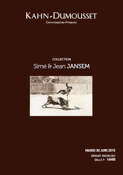 COLLECTION Simé & Jean JANSEM, Tableaux, mobilier et objets d'art