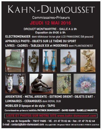 MOBILIER & OBJETS D'ART - VENTE COURANTE