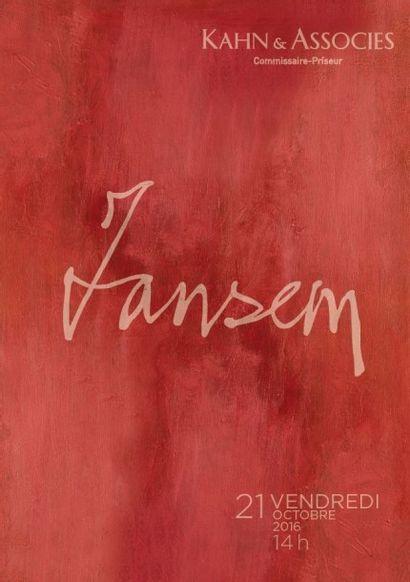 Tableaux modernes - JEAN JANSEM