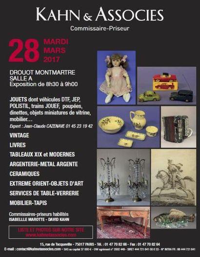 Jouets - mobilier & objets d'art