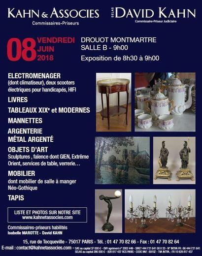 électroménager, tableaux, mobilier et objets d'art