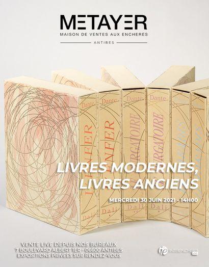 LIVRES MODERNES / LIVRES ANCIENS