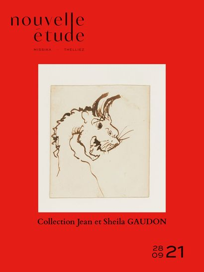 Collection Jean et Sheila GAUDON - VICTOR HUGO : Dessins, correspondances, livres