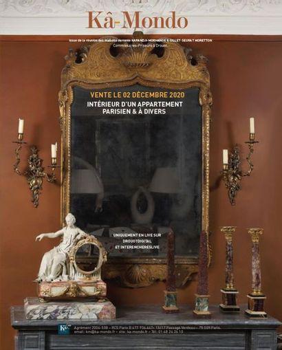 INTERIEUR D'UN APPARTEMENT PARISIEN & A DIVERS