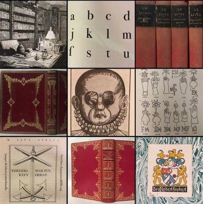 [Sur désignation] Cabinet de travail d'un libraire de province : collection bibliographique et documentaire sur le livre et l'édition