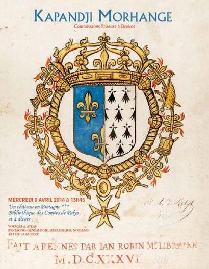 Un château en Bretagne***, bibliothèque des Comtes de Palys et à divers