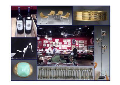 Tableaux, mobilier et objets d'art, vins, monnaies...