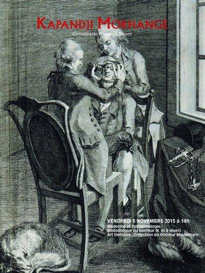 Médecine et Ophtalmologie :<br>Bibliothèque du Docteur M. et à divers<br>Art Dentaire : Collection du Docteur Meulemans