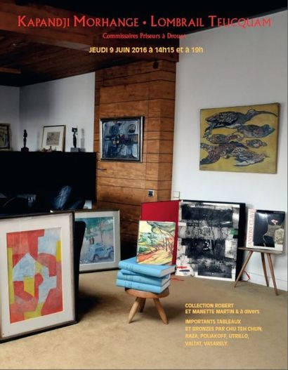 Collection Robert Martin et à divers : Estampes et Tableaux Modernes