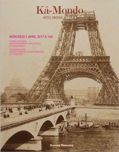 Livres anciens, Photographies, Tauromachie : collection d'un aficionado et à divers