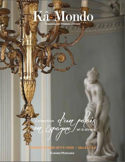 Collection d'un Palais en Espagne et à divers - 1ère partie - Vente de Prestige