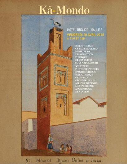 Bibliothèque Gustave Rouland ; Fonds André Giroux ; Bibliothèque orientale Georges Louis ; et à divers
