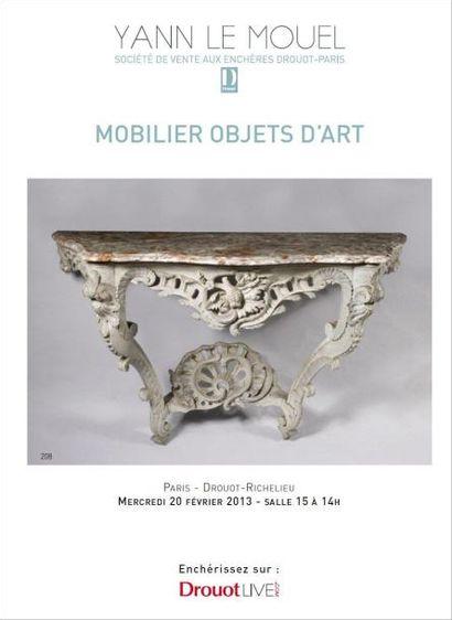 MOBILIER OBJETS D'ART