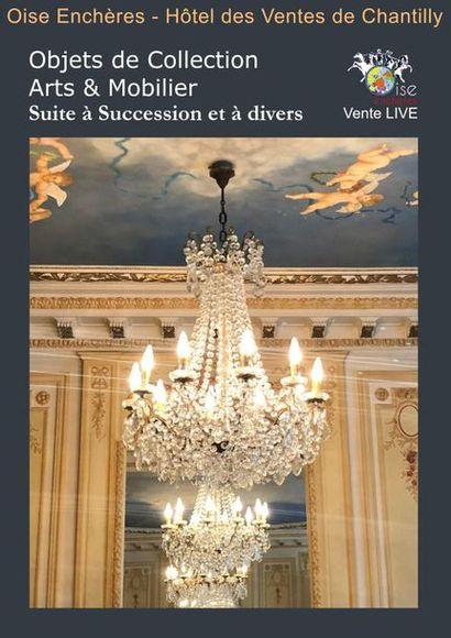 SUCCESSION D'UN MAGNIFIQUE APPARTEMENT PARISIEN ARC DE TRIOMPHE ET A DIVERS