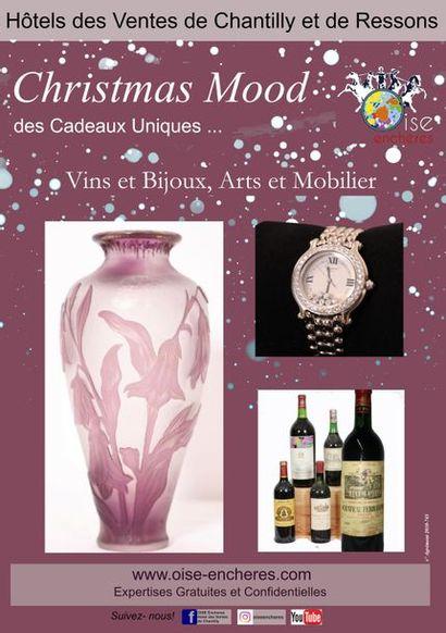 Christmas Mood : Vins, Bijoux, Objets d'Art, des Cadeaux Uniques