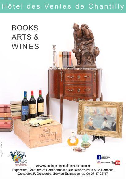 Wines, Arts & Books ONLINE Part 2 : Wines & Arts