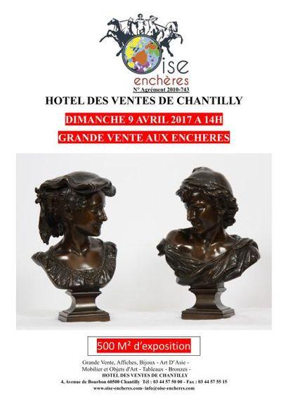 Grande Vente Poupées - Affiches - Bijoux - Art D'Asie - Mobilier et Objets d'Art - Tableaux - Bronzes -Vins  380 Lots