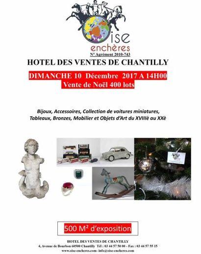 Vente de Noël  - Bijoux - Mobilier - Tableaux - Objets d'Art et de collection