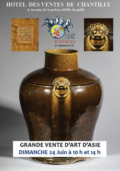 GRANDE VENTE D'ART D'ASIE