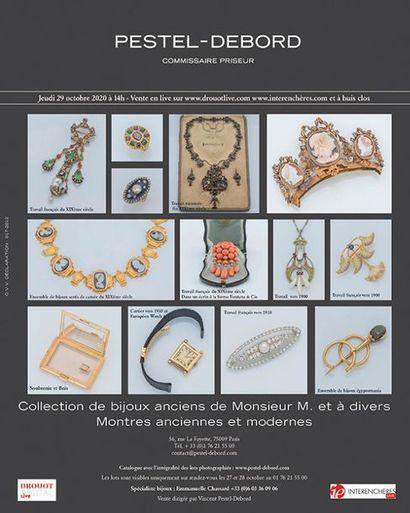 COLLECTION DE BIJOUX ANCIENS DE MONSIEUR M.