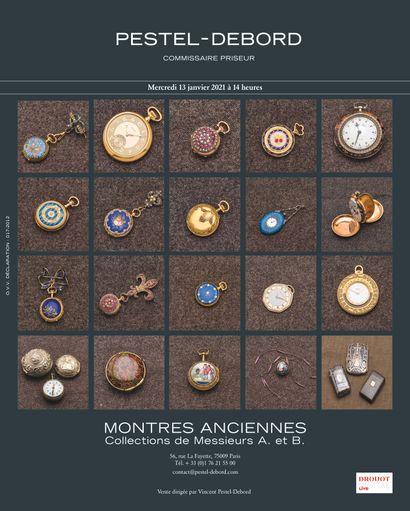 Collections de montres de poche de Monsieur B et Monsieur A