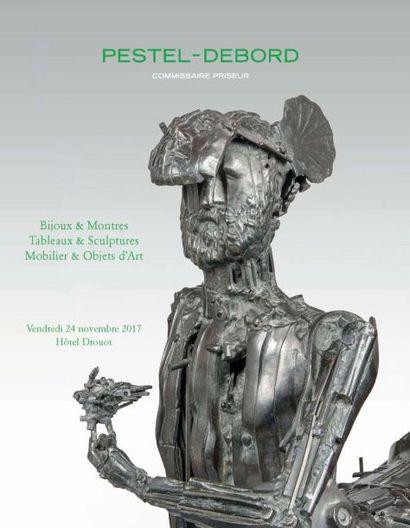 sculptures, bronzes, tableaux, mobilier et objets d'art