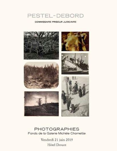 PHOTOGRAPHIES FONDS DE LA GALERIE MICHELE CHOMETTE