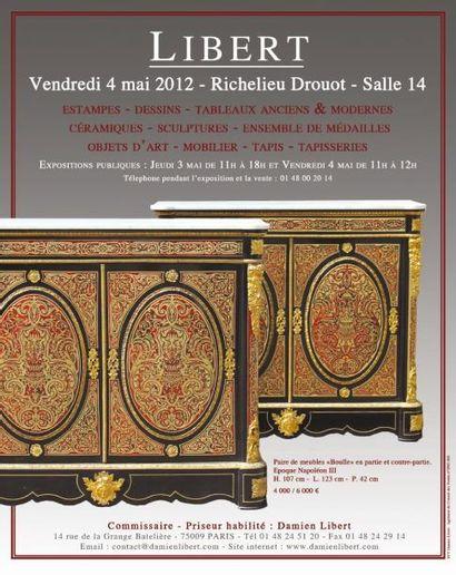 Meubles et objets d'art, tableaux anciens et modernes..