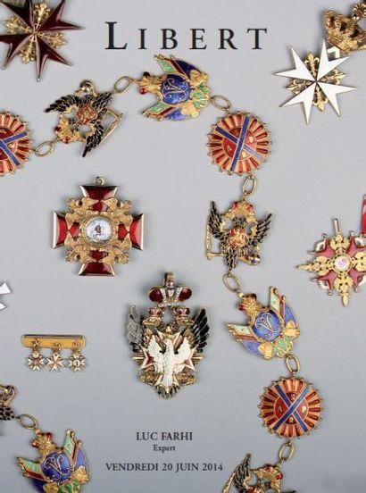 A 14h : Tableaux & Bijoux                A 15h30 : Importantes Distinctions Russes