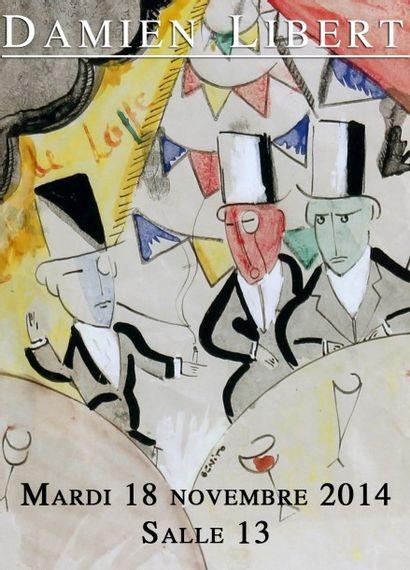 VIN, LIVRES, TIMBRES, TABLEAUX, MOBILIER, OBJETS d'ART, TAPIS & TAPISSERIE