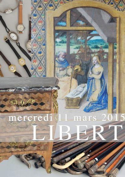 Timbres, Tableaux, Montres, Collection de cannes, Objets d'art, Mobilier, Tapis & Tapisseries
