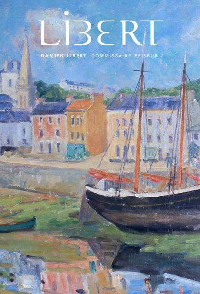 Collection de peintures de marine, tableaux, mobilier et objets d'art