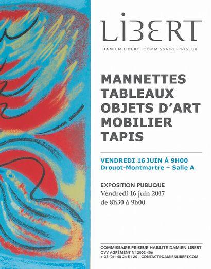 MANNETTES, TABLEAUX, OBJETS D'ART, MOBILIER & TAPIS