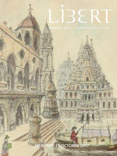 ENTIER MOBILIER D'UNE PROPRIÉTÉ NORMANDE : TABLEAUX, ARTS PREMIERS, OBJETS D'ART & MOBILIER