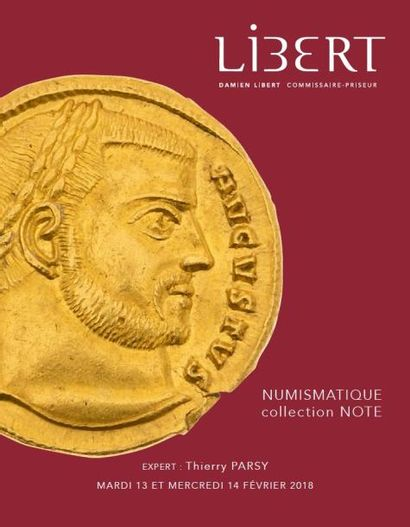 Collection Note - MONNAIES ANTIQUES (Grecques - Romaines - Byzantines)