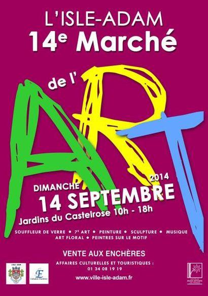 MARCHE DE L'ART à L'ISLE-ADAM