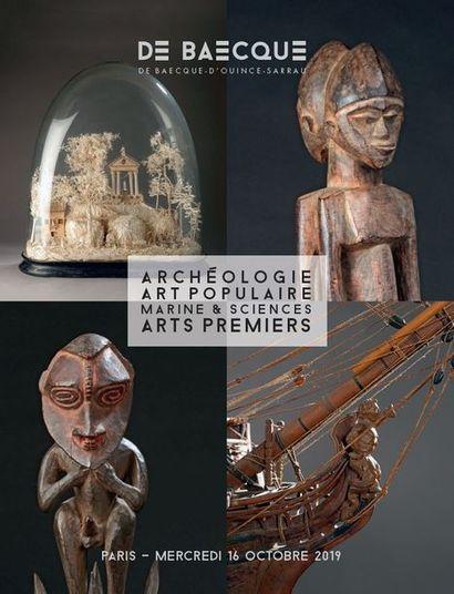 Archéologie - Arts premiers - Curiosités marines - Art populaire - Marine & Science
