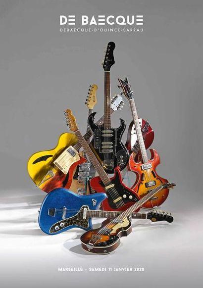 L'étonnante collection d'un amateur : 500 guitares électriques et acoustiques