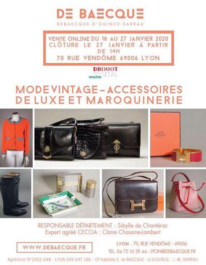 Mode vintage – accessoires de luxe et maroquinerie