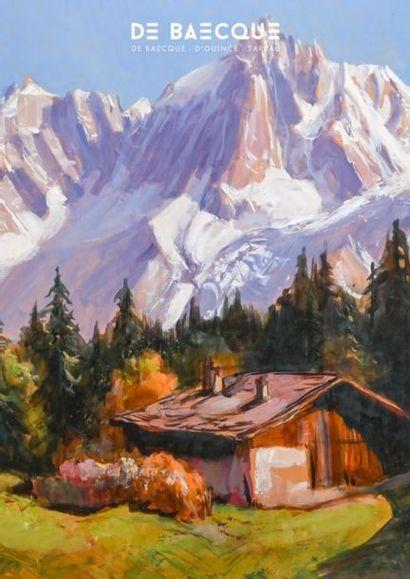 ART POPULAIRE - MONTAGNE