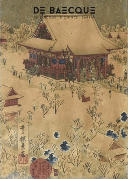 ARTS D'ASIE - JAPONISME