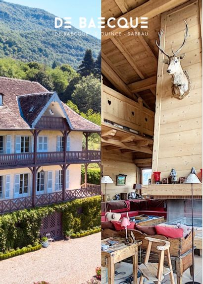 Whole contents of a chalet in Haute-Savoie and a house in Ain