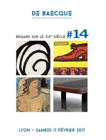 Vente à 14h30 et 18h : Regard sur le XXe siècle #14 : Tableaux – Photographies – Sculptures  –  Design