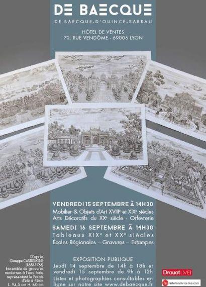 Mobilier & Objets d'Art XVIIIe et XIXe siècles - Arts Décoratifs du XXe siècle - Orfevrerie
