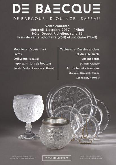 Vente Courante : Mobilier & objets d'art